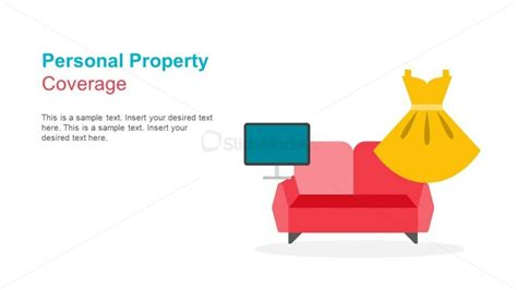 the personal house insurance personal property coverage powerpoint slidemodel