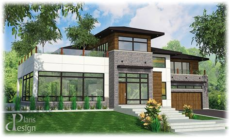 Plan De Maison Design by Maison Moderne De Luxe Plan Id 233 Es De D 233 Coration Capreol Us