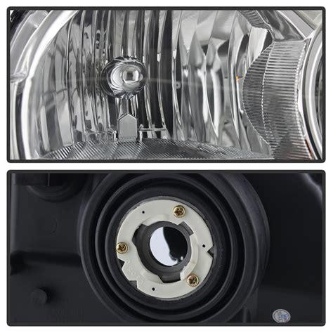 stock jeep headlights 05 07 jeep grand cherokee passenger headlights oem right
