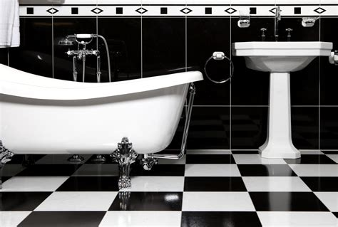 black and white checkered bathroom floor file bathroom with bathtube jpg