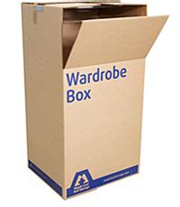 Wardrobe Storage Box by Boxes Maple Leaf Self Storage