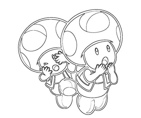 Free Coloring Pages Of Mario Kart Toad Toad Mario Coloring Pages