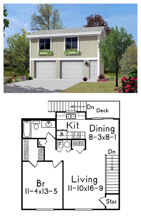garage with upstairs apartment garage plan 87879 decks one bedroom and living rooms