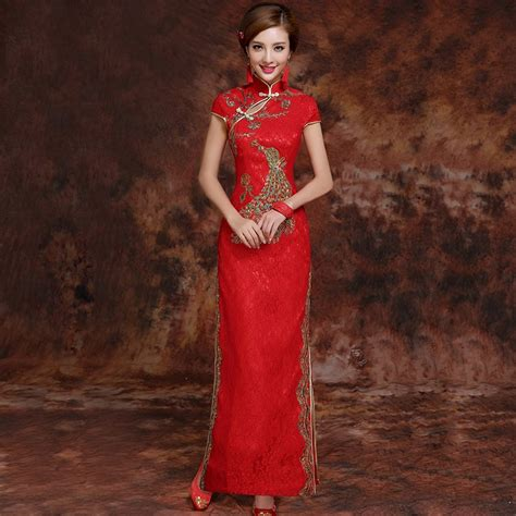 new year clothes singapore brocade gold embroidery traditional cheongsam
