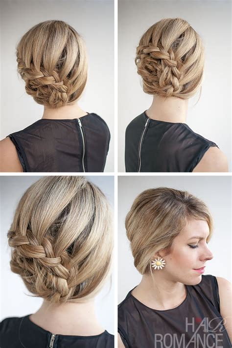 how to do updo hairstyles with weave curved lace braid hairstyle tutorial inspired by nicole