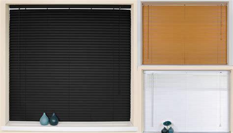 Black Window Blinds Venetian Blinds Pvc Slat Window Blind Easy Fit Black White
