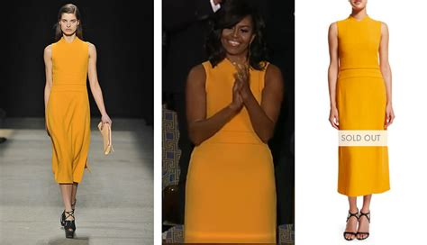 michelle obama dresses icymi michelle obama s sotu dress sold out immediately