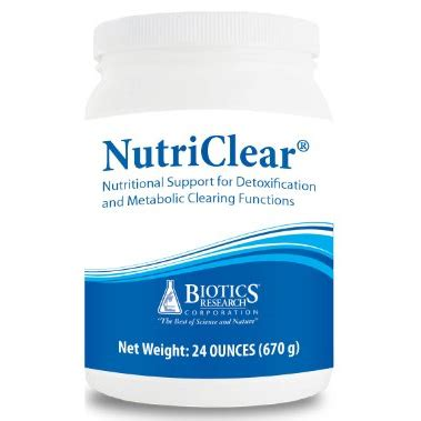 Nutriclear Detox Review by Biotics Nutriclear Detoxification Support