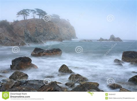 Landscape In The Mist Landscape In The Mist Royalty Free Stock Photography