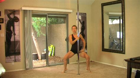 setting up a pole a pole workout space in