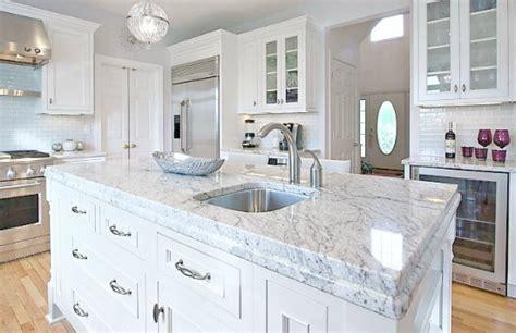 Looks Like Marble Countertops by Which Granite Looks Like White Carrara Marble