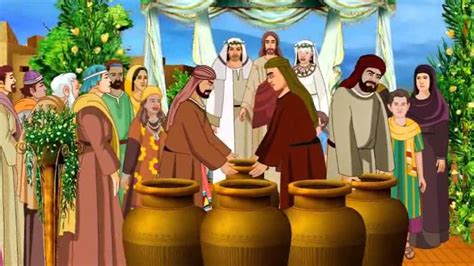 Wedding At Cana Children S Activities by Jesus Turns Water Into Wine In The Wedding At Cana Bible