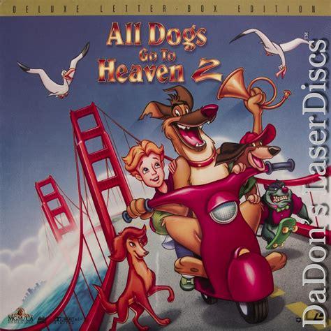 all dogs go to heaven 3 all dogs go to heaven 2 laserdisc laserdiscs ac 3