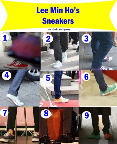 Sepatu Ho sepatu sneakers min ho korean chingu