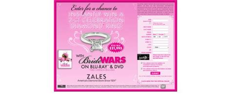 Bride Sweepstakes - bride wars 2 carat diamond instant win sweepstakes