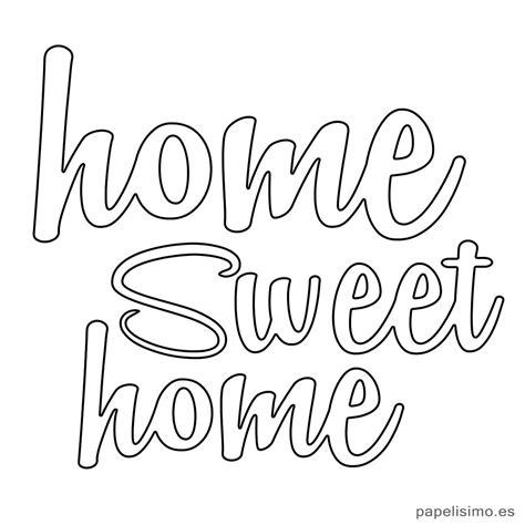 letras home decoracion letras home sweet home hogar dulce hogar diy