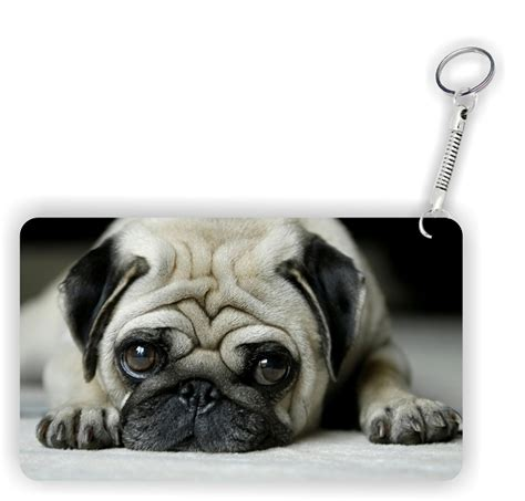 pugs names in the caign pug mug key chain