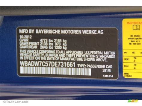 2013 3 series color code 381 for le mans blue metallic photo 83073599 gtcarlot