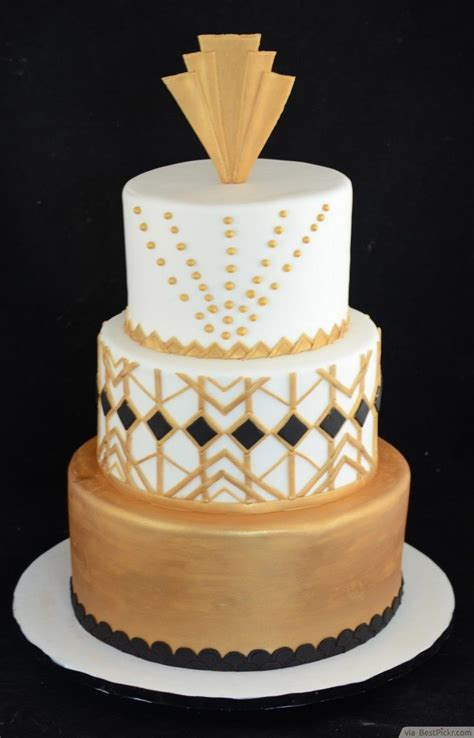 black and gold great gatsby decoration ideas http
