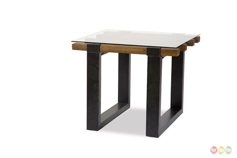 stylish table keystone rustic modern mahogany end table w stylish wood
