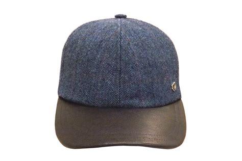 the duke baseball cap with leather peak hats