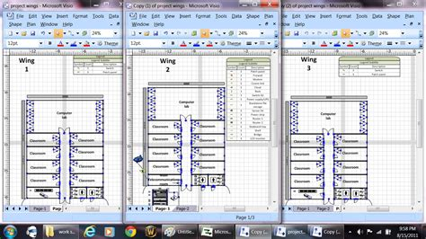 visio project plan visio floorplan for school joseph peters