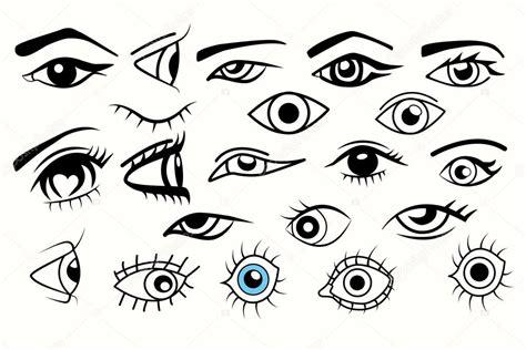 clipart occhi collezione di occhi diverso degli occhi per i disegni