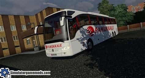 mercedes benz tourismo  shd bus mod simulator games mods
