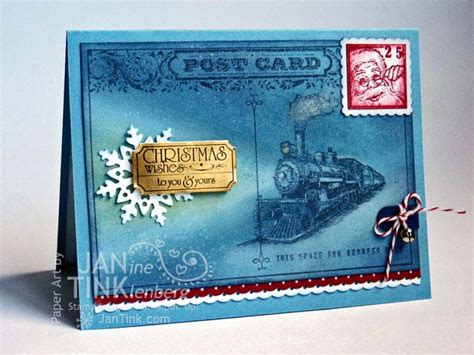 how to make a polar express paper christmas tree traveler polar express card by jantink at splitcoaststers