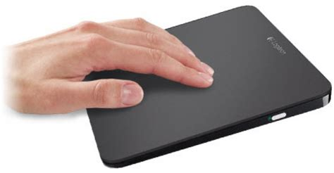 Touchpad External logitech wireless rechargeable touchpad t650