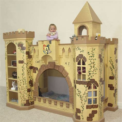 Boys Castle Bunk Bed King Toliver Castle Bunk Bed And Luxury Kid Furnishings Including Armoires In Childs Furniture