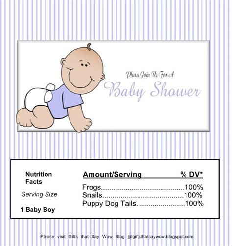 baby shower wrappers templates free gifts that say wow free printable baby boy wrapper
