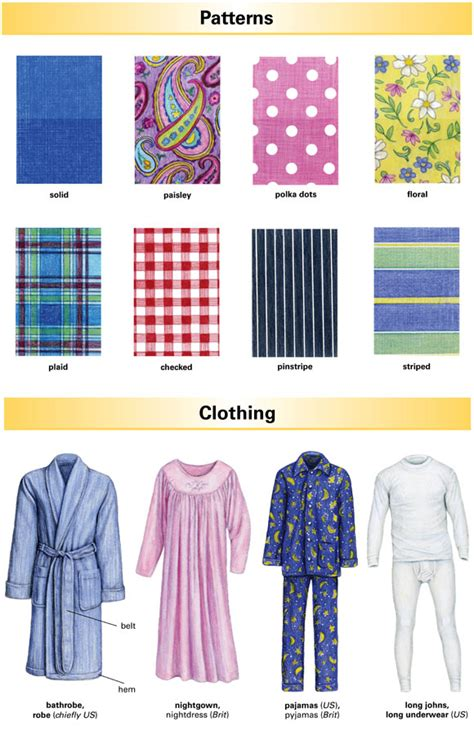 Clothes Pattern Definition | pattern definition for english language learners from