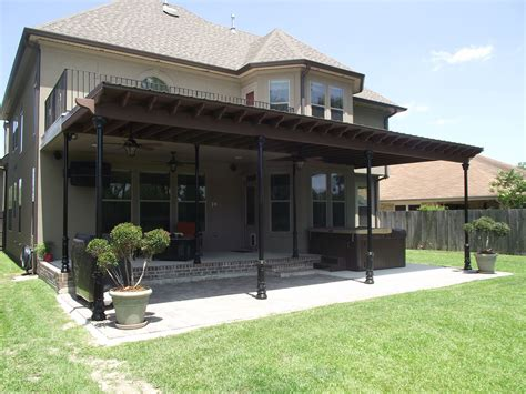 Patio Covers New Orleans Area Stylish Patio Covers New Orleans As Inspiration And