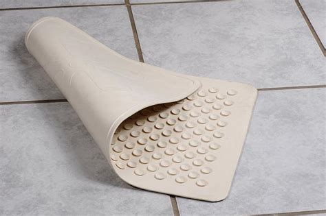bathroom mat stuck to floor why you should get rubber shower mats