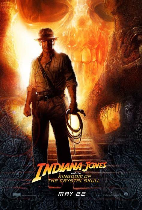 film petualangan indiana jones affiche du film indiana jones et le royaume du cr 226 ne de
