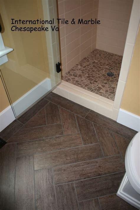 ceramic wood grain floor tile     Master Bath, Grains