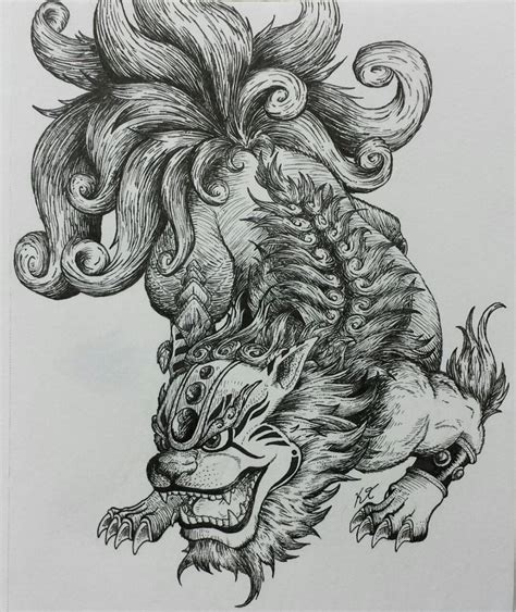 foo dog tattoo design 25 best ideas about foo on foo
