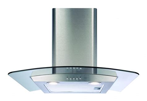 Kitchen Extractor Fan Into Chimney Cda Ecp62ss 60cm Glass Chimney Cooker Extractor Fan