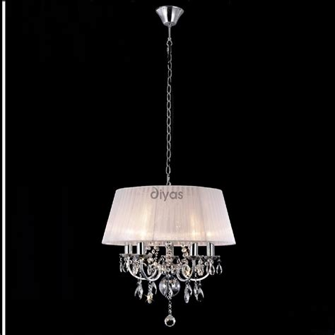 Pendant Ceiling Lights Uk Diyas Uk Il Il30046 Polished Chrome Five Light Pendant Ceiling Fitting With White
