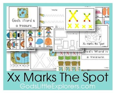 Free Preschool Printables X Marks The Spot Free House Plans X Marks The Spot