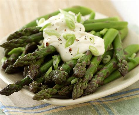 orange mayonnaise asparagus with orange mayonnaise