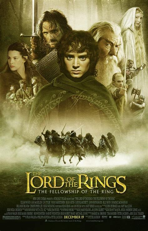 the fellowship of the the lord of the rings the fellowship of the ring at the movies with karl kevad