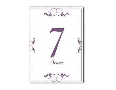 printable elegant numbers table numbers wedding table numbers printable table cards