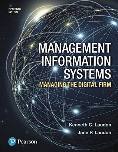 management information systems laudon  edition