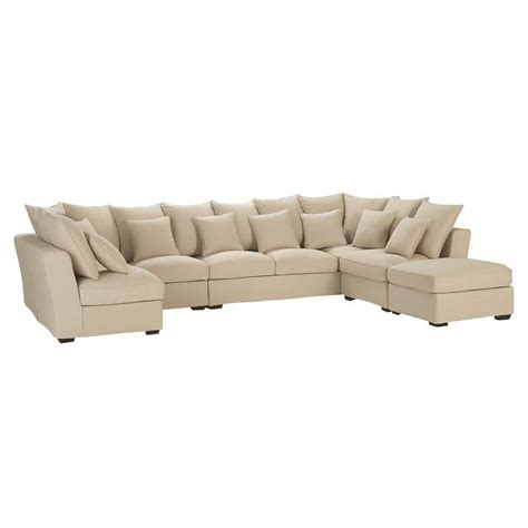 7 seater couch 7 seat corner sofa in beige balthazar balthazar