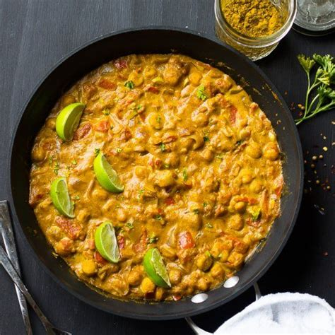 cuisine v馮騁arienne indienne this vegan coconut chickpea curry is the best curry