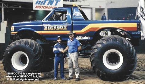 the truck bigfoot history of bigfoot 171 bigfoot 4 215 4 inc truck