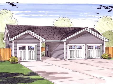 garage plans with carport garage plans with carports 3 car garage plan with center