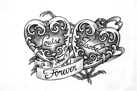 open locket tattoo designs flower and designs cliparts co